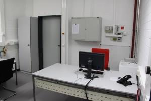 Umbau Labor Raum 1518 (2) - 09.12.2014
